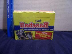 1988 TOPPS BASEBALL YEARBOOK ALBUM STICKERS FACTORY SEALED 4