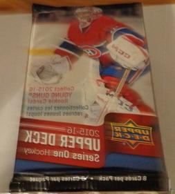 2015-16 UD Upper Deck Series 1 Hockey  Packs Retail  3 Young
