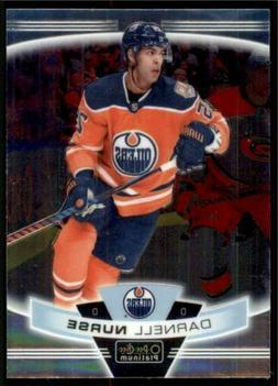 2019-20 OPC Platinum Base #9 Darnell Nurse - Edmonton Oilers
