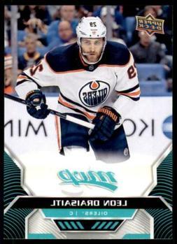2020-21 UD MVP Base SP #202 Leon Draisaitl - Edmonton Oilers