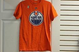 "Reebok ""B"" Grade Edmonton Oilers Orange/White/Blue Size Smal"