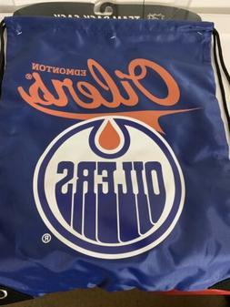 Brand New Edmonton Oilers Officially Licensed NHL Back Sack