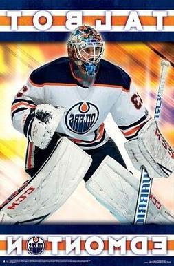 CAM TALBOT - EDMONTON OILERS POSTER - 22x34 - NHL HOCKEY 163