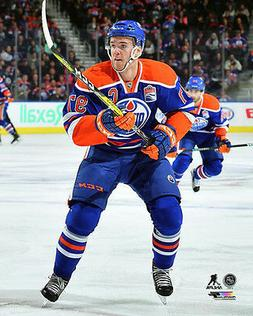 Connor McDavid CAPTAIN ACTION Edmonton Oilers Premium 16x20
