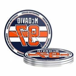 Connor McDavid Edmonton Oilers NHLPA 4 Pk Coaster Set - Reta