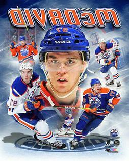 Connor McDavid HERO Edmonton Oilers NHL Hockey Premium 16x20