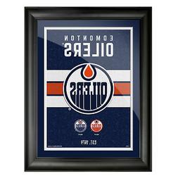 Edmonton Oilers 12x16 Team Tradition Framed Artwork