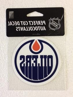 "Edmonton Oilers 4"" x 4"" Logo Truck Car Window Auto Die Cut D"