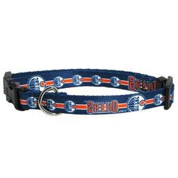 Edmonton Oilers Adjustable Dog Collar - Royal Blue