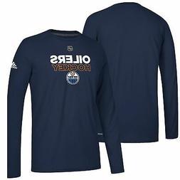 Edmonton Oilers adidas Authentic Ice climalite Ultimate Long