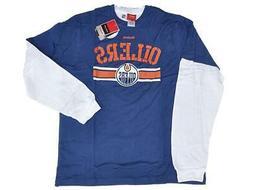 Edmonton Oilers Reebok Blue and White 2 Pack of Long/Short S