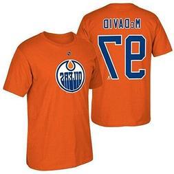 Edmonton Oilers Connor McDavid Boy's Youth Orange Player Nam