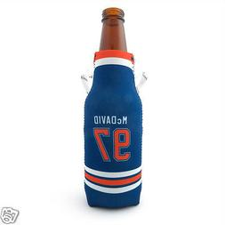 Edmonton Oilers Connor McDavid Skate Lace Bottle Cooler - NH