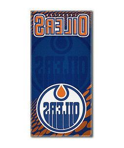 "Edmonton Oilers Emblem Large 30""x60"" Beach Bath Towel NHL Ho"