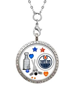 Edmonton Oilers Floating Locket