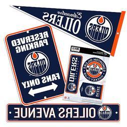 Edmonton Oilers Four Pack Fan Kit