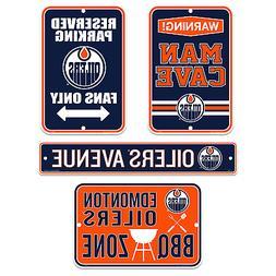 Edmonton Oilers Four Pack Fan Sign Set