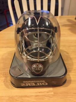 Edmonton Oilers Franklin Official NHL Hockey Mini Goalie Mas