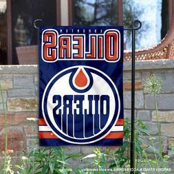 Edmonton Oilers Garden Flag and Yard Banner