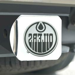 Edmonton Oilers Heavy Duty 3-D Chrome Emblem Chrome Metal Hi