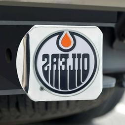Edmonton Oilers Heavy Duty 3-D Color Emblem Chrome Metal Hit