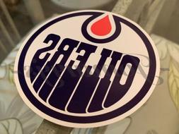 Edmonton Oilers Hockey Team Logo NHL Sticker Decal Vinyl #Ed
