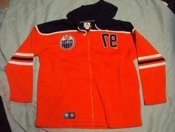 Edmonton Oilers Hoodie Sweatshirt McDavid Adult Size 3XL New