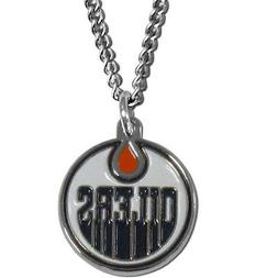 """edmonton oilers licensed nhl hockey charm necklace 22"""" chain"""