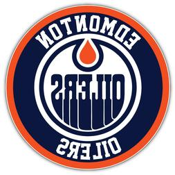 "Edmonton Oilers Logo NHL Sport Car Bumper Sticker Decal  ""SI"