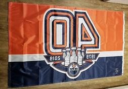 Edmonton Oilers NHL Anniversary 40th Year in NHL Car Auto Tr