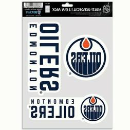 Edmonton Oilers Wincraft NHL Decal Sheet Multi Use Decal