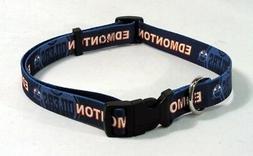 Edmonton Oilers NHL Extra Large XL Dog/Cat Pet Collar