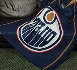 Edmonton Oilers NHL Fleece Throw Blanket by Northwest