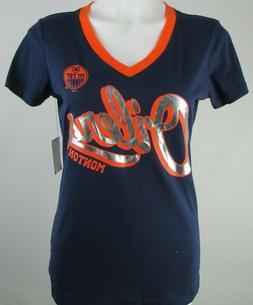 Edmonton Oilers NHL G-III Women's V-Neck Short Sleeve