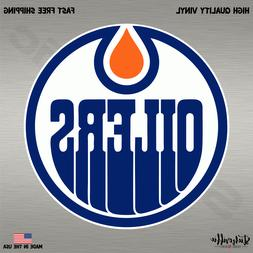Edmonton Oilers NHL Hockey Full Color Logo Sports Decal Stic