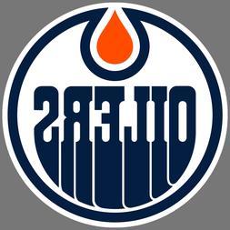Edmonton Oilers NHL Hockey Vinyl Sticker Car Truck Window De