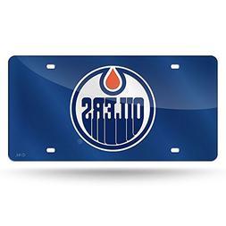 Edmonton Oilers NHL Laser Cut License Plate Cover