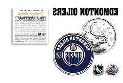 EDMONTON OILERS NHL Legal Tender Canada Quarter Coin