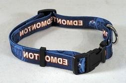 Edmonton Oilers NHL Licensed Medium Dog/Cat Pet Collar