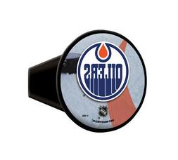 """Edmonton Oilers NHL Plastic Trailer Hitch Cover for 2"""" recei"""