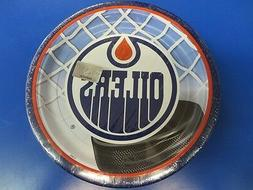 """Edmonton Oilers NHL Pro Hockey Sports Banquet Party 9"""" Paper"""