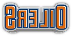 Edmonton Oilers NHL Slogan  Car Bumper Sticker Decal - 9'',