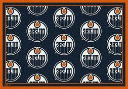Edmonton Oilers NHL Team Repeat Area Rug Milliken