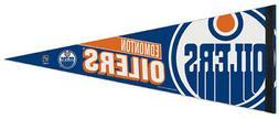 EDMONTON OILERS Official NHL Modern Logo-Style Premium Felt