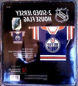Edmonton Oilers Premium 2-Sided Jersey Style Banner Outdoor