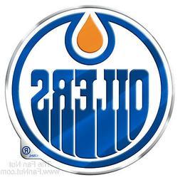 Edmonton Oilers Raised 3D COLOR Metal Auto Emblem Home Decal