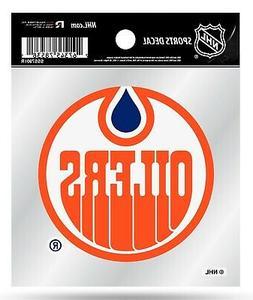 Edmonton Oilers Retro Logo Premium 4x4 Decal Flat Vinyl Auto