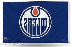 Edmonton Oilers Rico 3x5 Flag w/grommets Outdoor House Banne