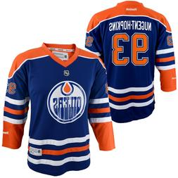 EDMONTON OILERS  Ryan Nugent-Hopkins RBK Replica YOUTH Jerse