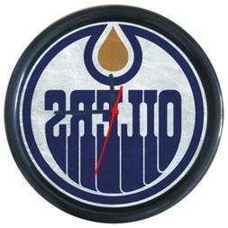 Edmonton Oilers Sport Team Football Baseball Round Wall Cloc